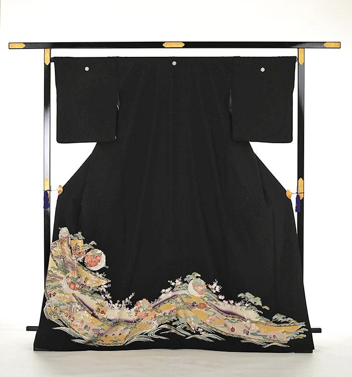 大きいサイズ 黒留袖 No.CA-0161-MOサイズ_03