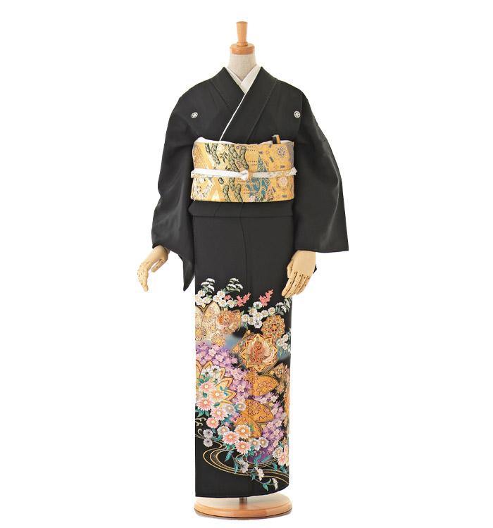 大きいサイズ 黒留袖 No.CA-0162-MOサイズ