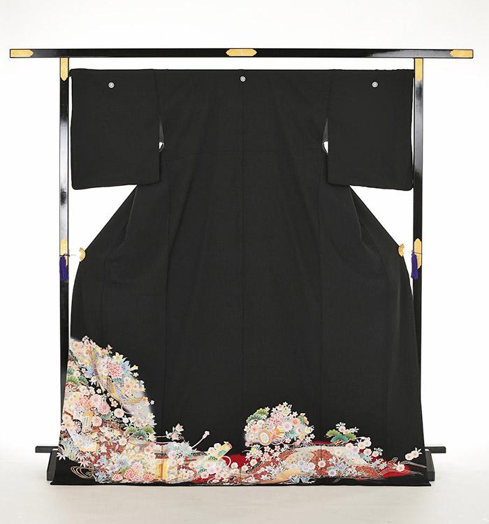 トールサイズ 黒留袖 No.CA-0163-LLサイズ_03