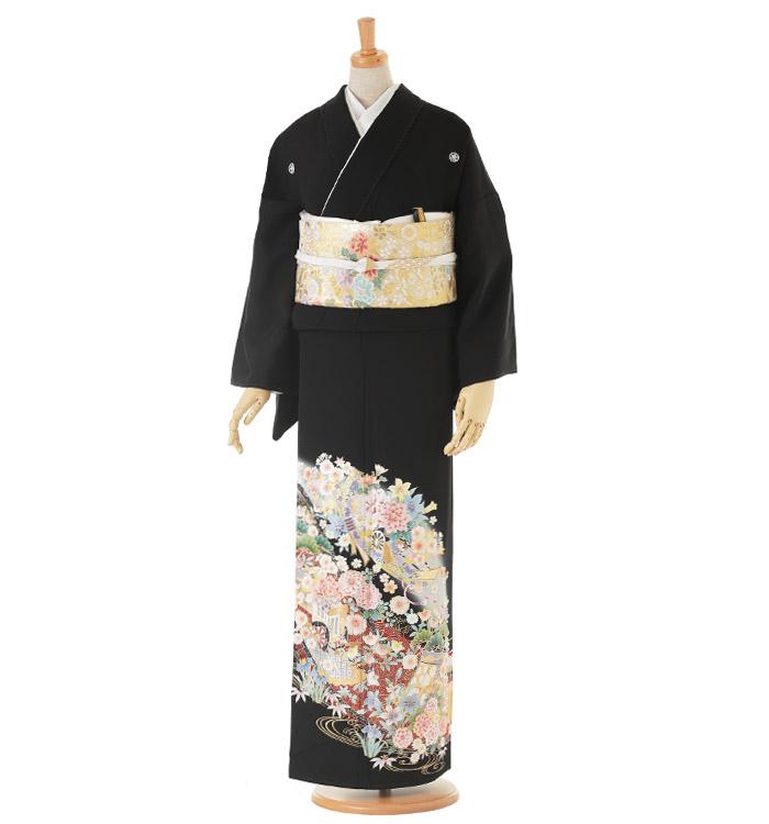 トールサイズ 黒留袖 No.CA-0163-LLサイズ