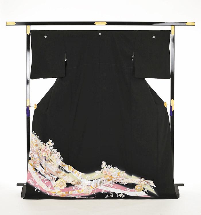 トールサイズ 黒留袖 No.CA-0164-LLサイズ_03