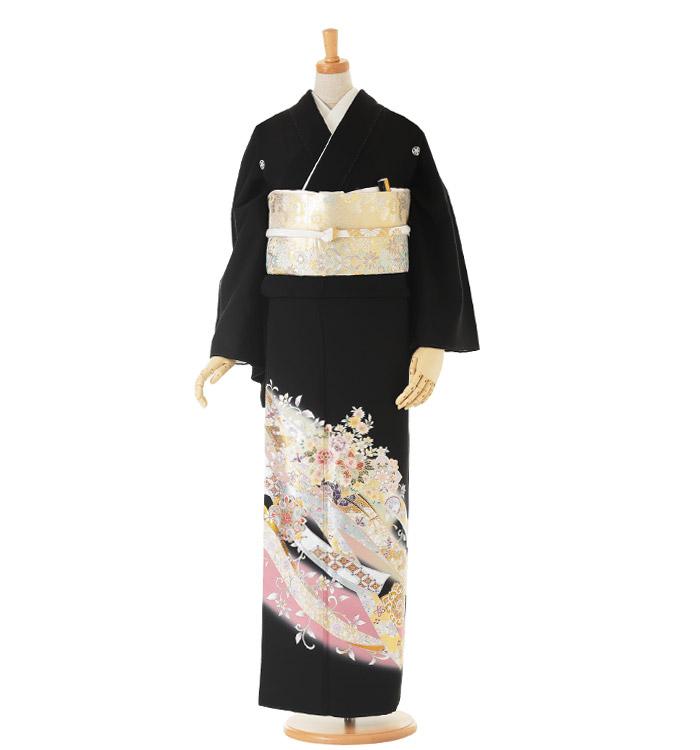 トールサイズ 黒留袖 No.CA-0164-LLサイズ