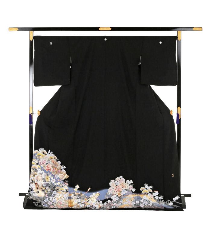 トールサイズ 黒留袖 No.CA-0165-LLサイズ_03