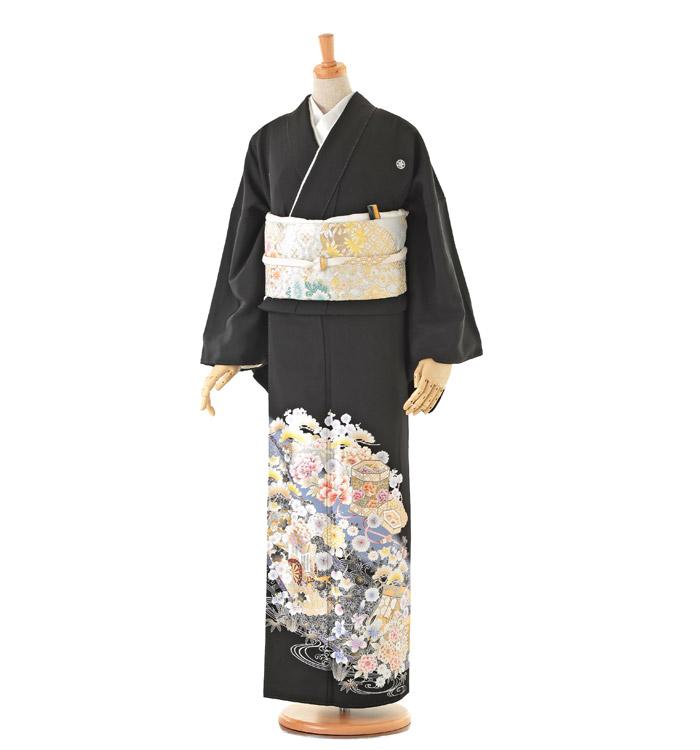 トールサイズ 黒留袖 No.CA-0165-LLサイズ