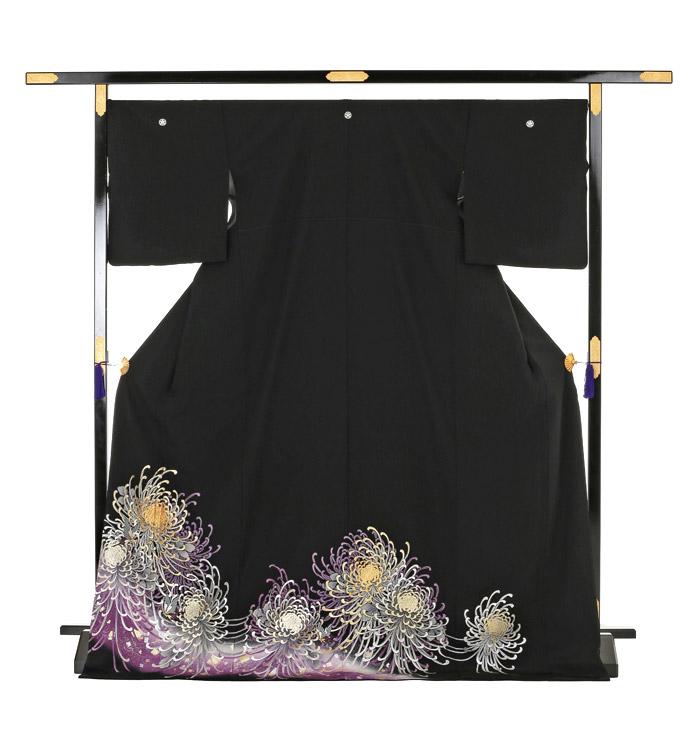 トールサイズ 黒留袖 No.CA-0166-LLサイズ_03