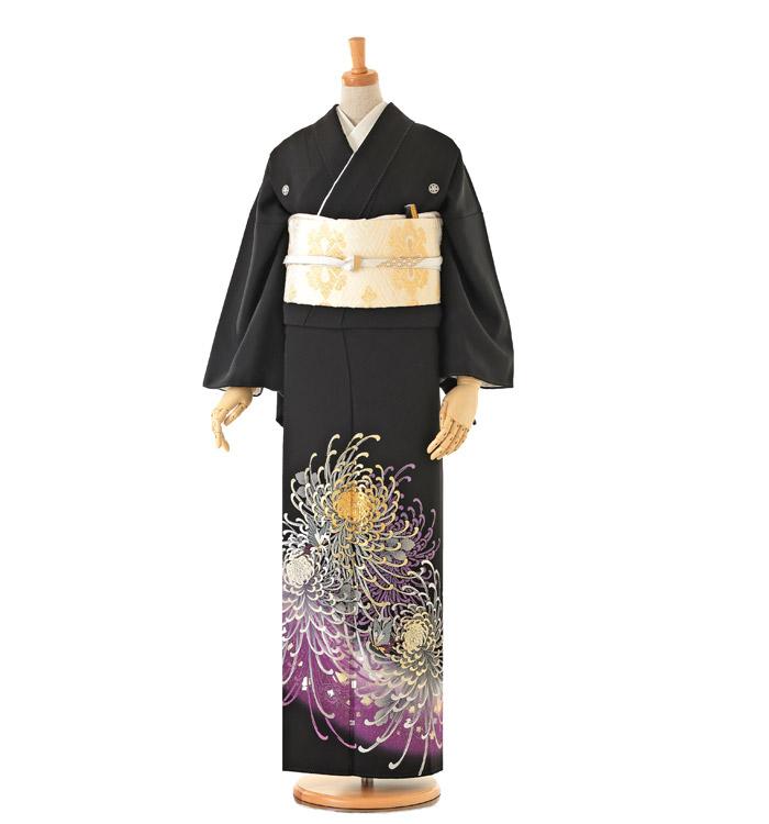 トールサイズ 黒留袖 No.CA-0166-LLサイズ