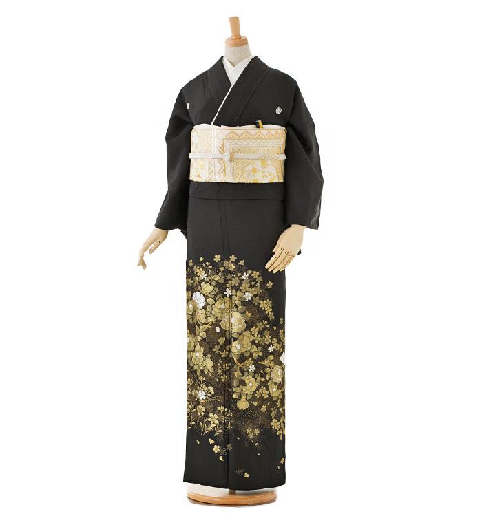 山口美術織物 黒留袖 No.CA-0176-Lサイズ