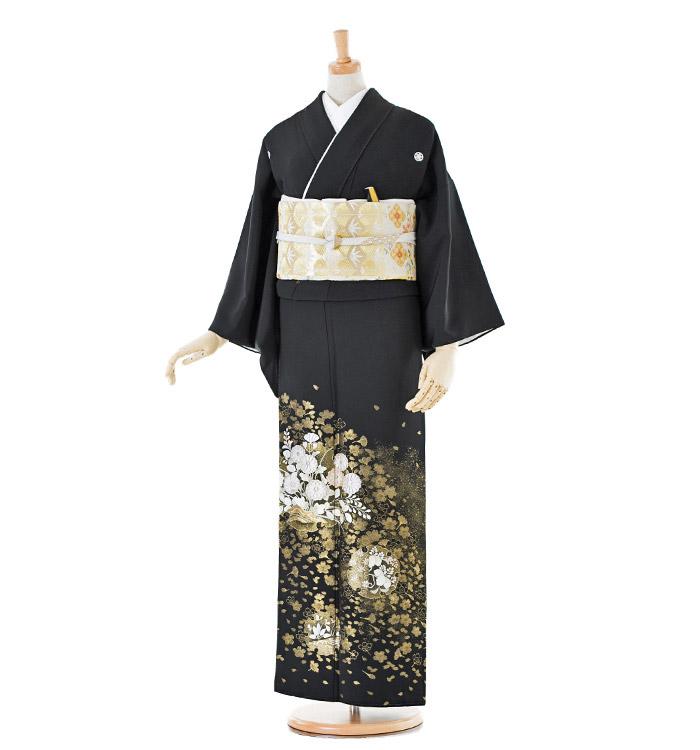 山口美術織物 黒留袖 No.CA-0179-Sサイズ