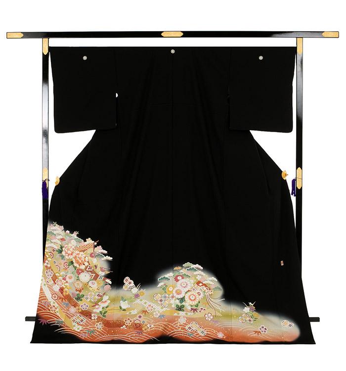 大きいサイズ 黒留袖 No.CA-0180-LOサイズ_03