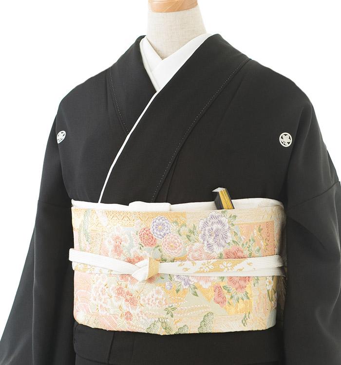 大きいサイズ 黒留袖 No.CA-0180-LOサイズ_01