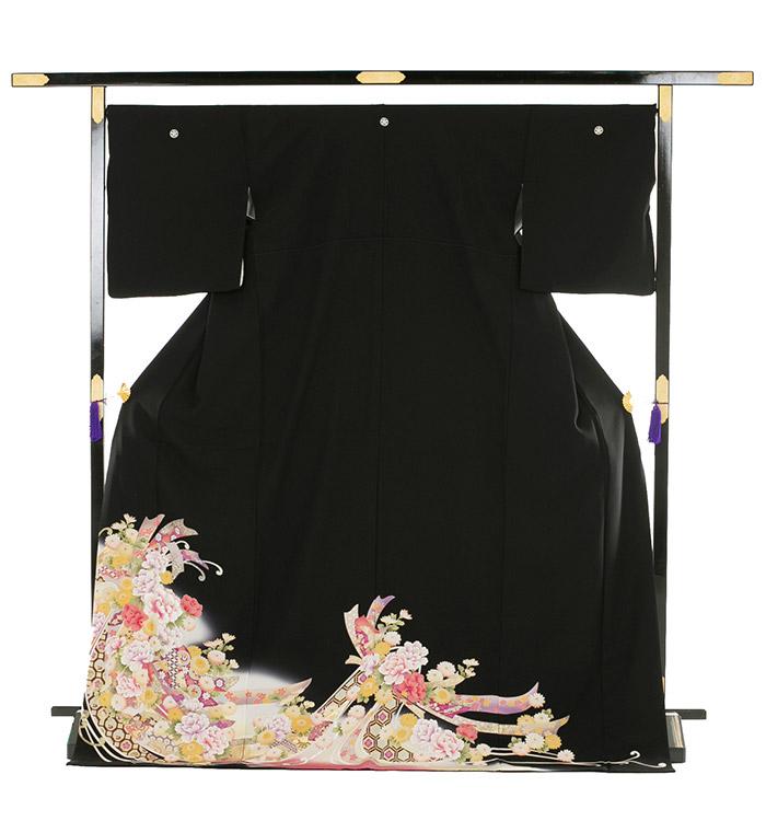 トールサイズ 黒留袖 No.CA-0184-LLサイズ_03