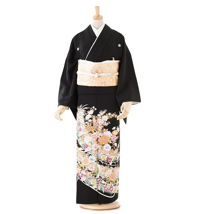 トールサイズ 黒留袖 No.CA-0185-LLサイズ