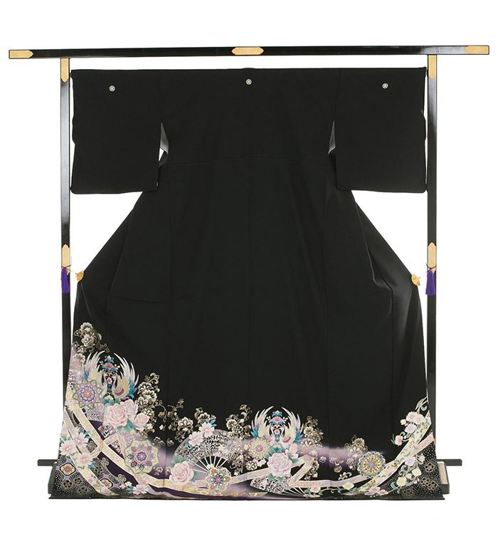 トールサイズ 黒留袖 No.CA-0186-LLサイズ_03