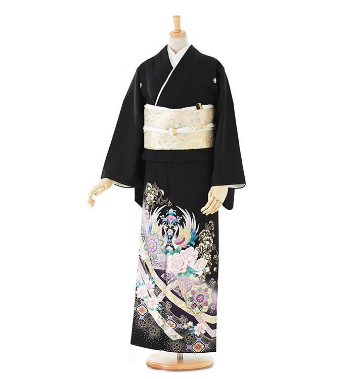 トールサイズ 黒留袖 No.CA-0186-LLサイズ