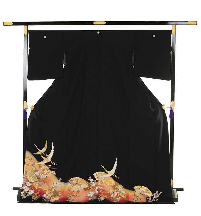 トールサイズ 黒留袖 No.CA-0187-LLサイズ_03