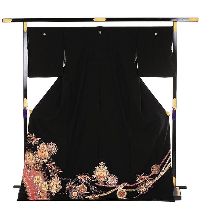 トールサイズ 黒留袖 No.CA-0188-LLサイズ_03
