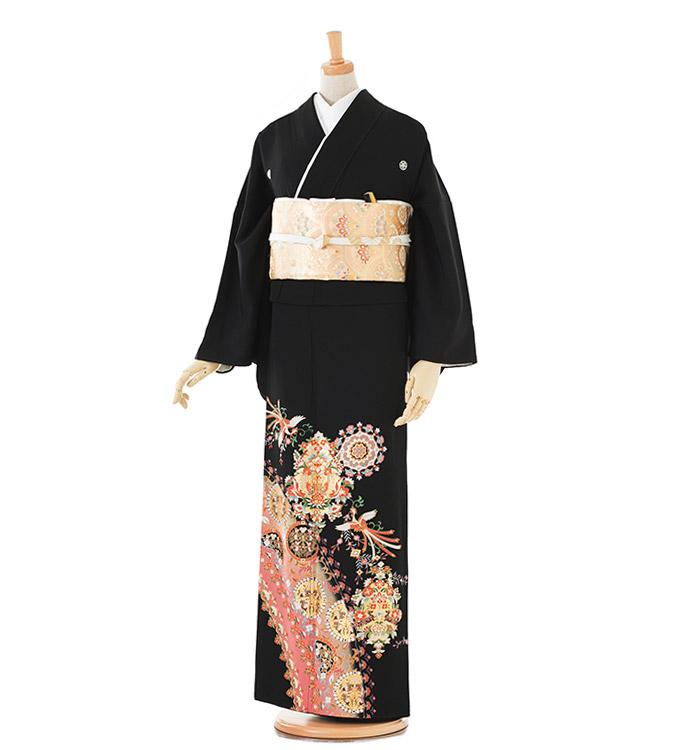トールサイズ 黒留袖 No.CA-0188-LLサイズ