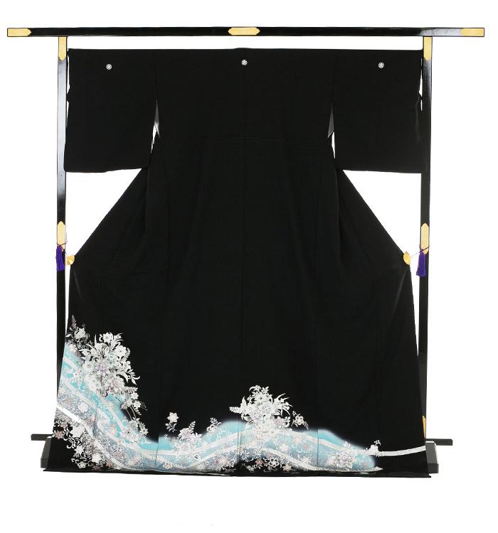 トールサイズ 黒留袖 No.CA-0190-LLサイズ_03