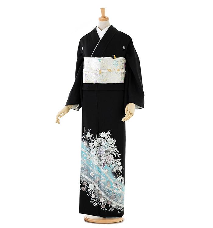 トールサイズ 黒留袖 No.CA-0190-LLサイズ