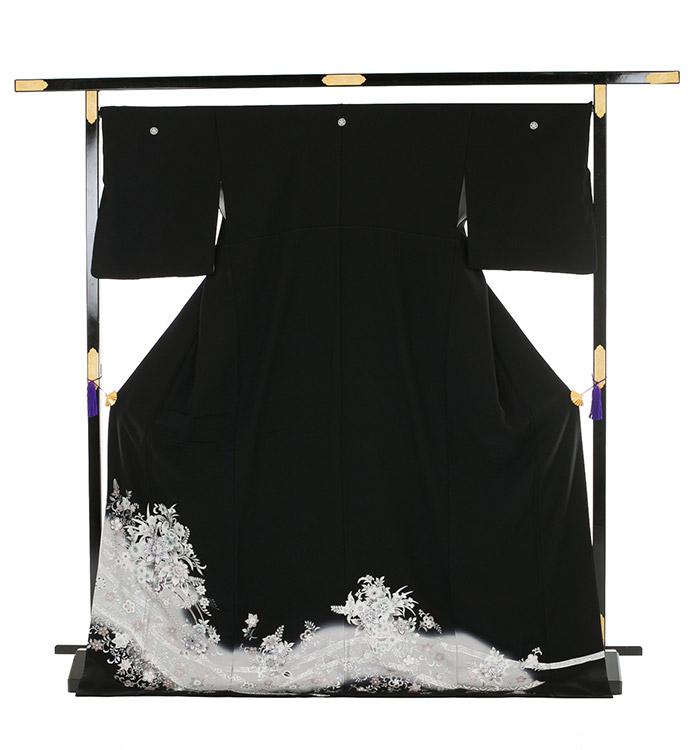 トールサイズ 黒留袖 No.CA-0191-LLサイズ_03