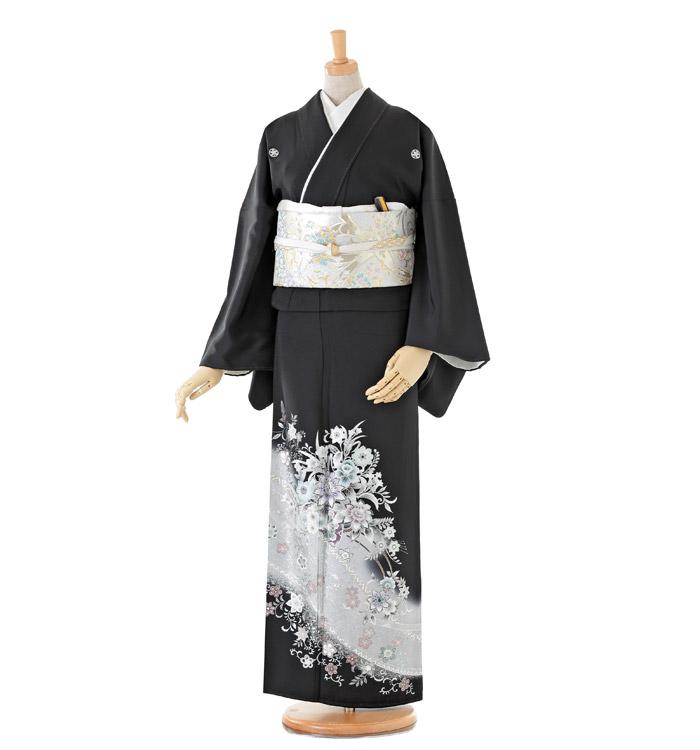 トールサイズ 黒留袖 No.CA-0191-LLサイズ