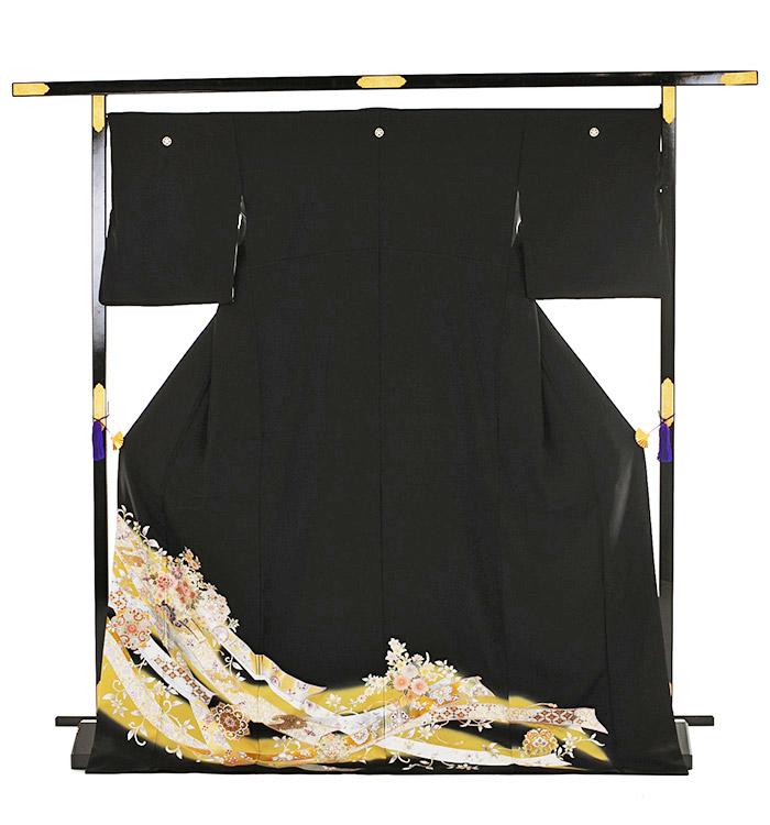 トールサイズ 黒留袖 No.CA-0192-LLサイズ_03
