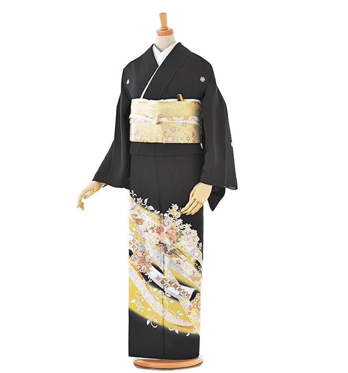 トールサイズ 黒留袖 No.CA-0192-LLサイズ