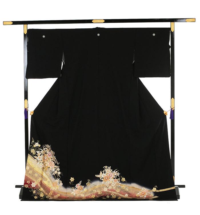 トールサイズ 黒留袖 No.CA-0193-LLサイズ_03