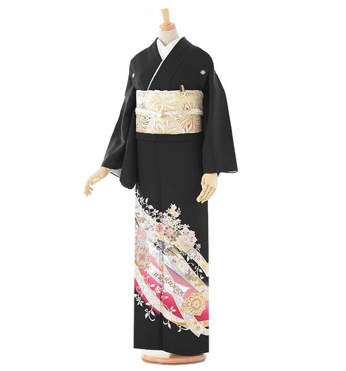 トールサイズ 黒留袖 No.CA-0194-LLサイズ
