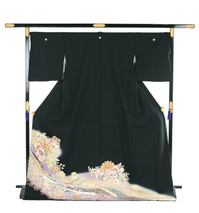 トールサイズ 黒留袖 No.CA-0195-LLサイズ_03