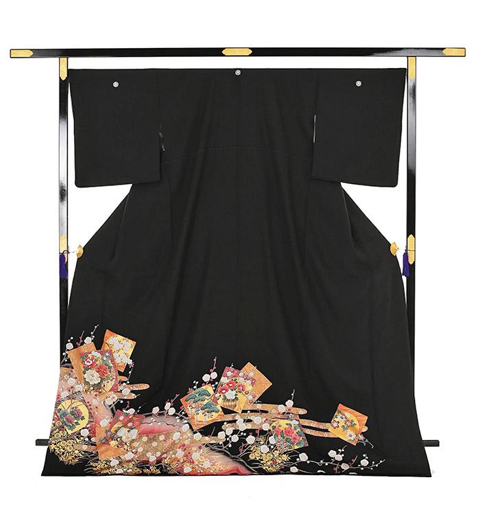 大きいサイズ 黒留袖 No.CA-0198-LOサイズ_03