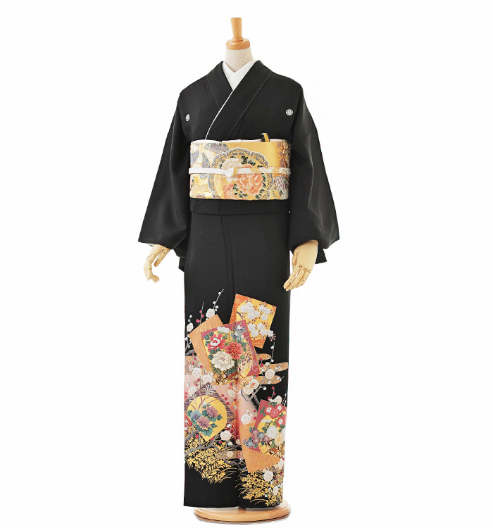 大きいサイズ 黒留袖 No.CA-0198-LOサイズ