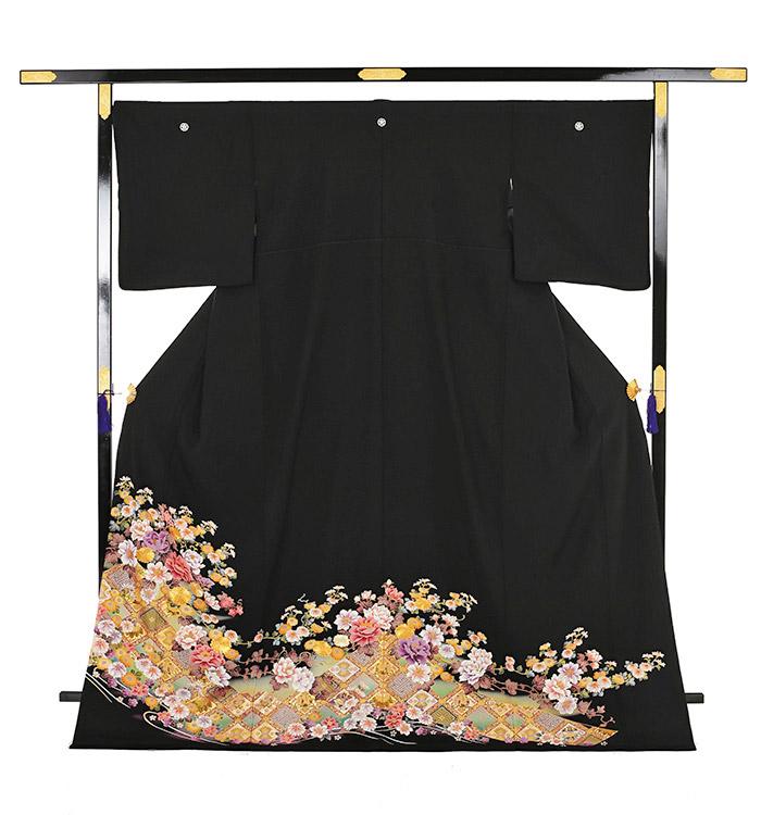 大きいサイズ 黒留袖 No.CA-0199-LOサイズ_03