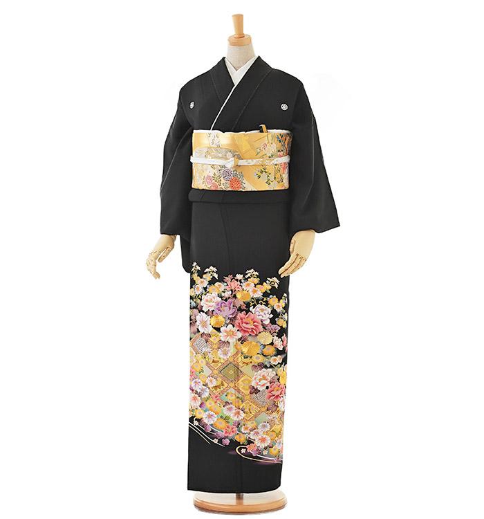 大きいサイズ 黒留袖 No.CA-0199-LOサイズ
