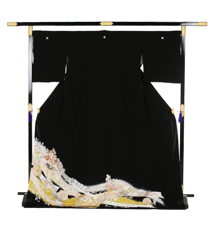 トールサイズ 黒留袖 No.CA-0200-LLサイズ_03