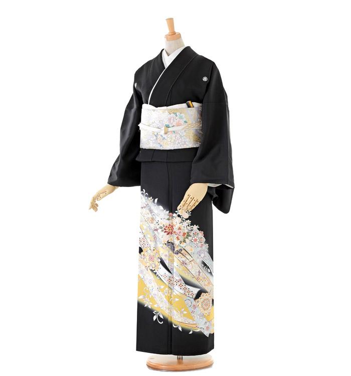 トールサイズ 黒留袖 No.CA-0200-LLサイズ