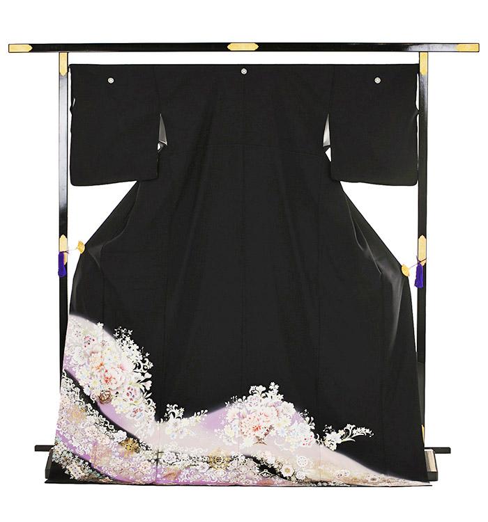 トールサイズ 黒留袖 No.CA-0201-LLサイズ_03