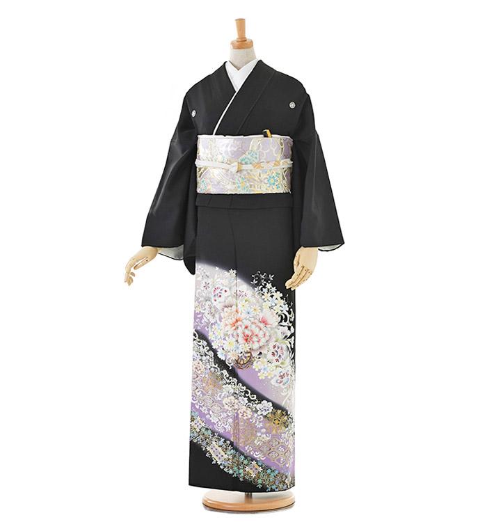 トールサイズ 黒留袖 No.CA-0201-LLサイズ