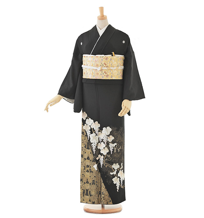 山口美術織物 黒留袖 No.CA-0202-Lサイズ