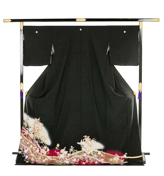 トールサイズ 黒留袖 No.CA-0203-LLサイズ_03
