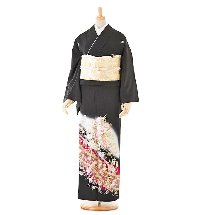 トールサイズ 黒留袖 No.CA-0203-LLサイズ