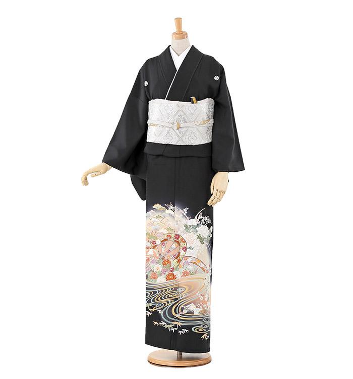 大きいサイズ 黒留袖 No.CA-0207-MOサイズ