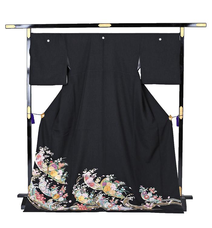 トールサイズ 黒留袖 No.CA-0208-LLサイズ_03