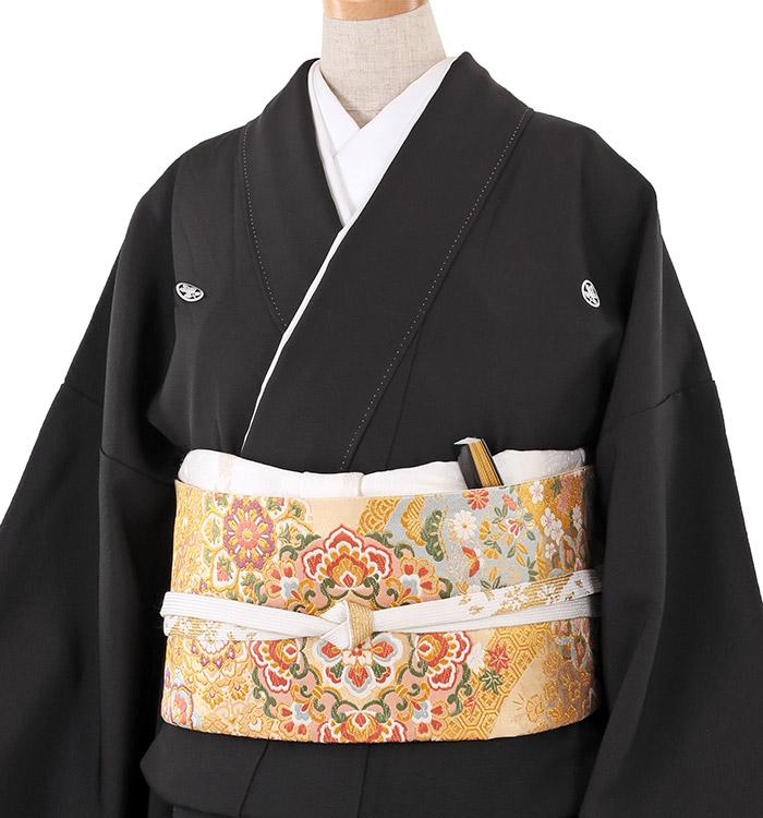 大きいサイズ 黒留袖 No.CA-0209-LOサイズ_01