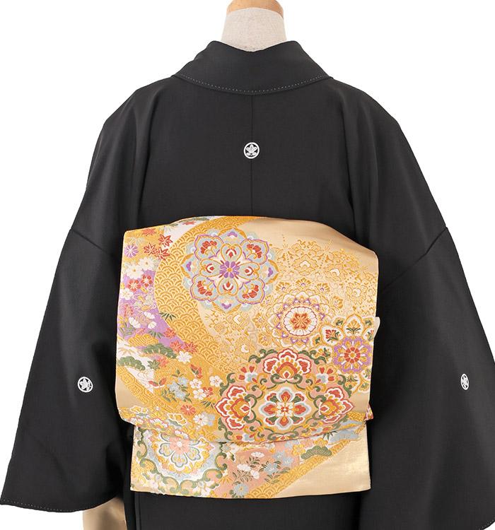 大きいサイズ 黒留袖 No.CA-0209-LOサイズ_02