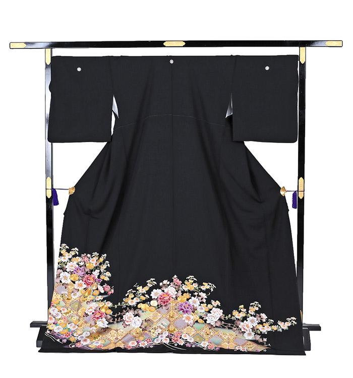 トールサイズ 黒留袖 No.CA-0210-LLサイズ_03