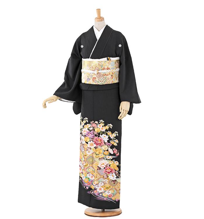 トールサイズ 黒留袖 No.CA-0210-LLサイズ