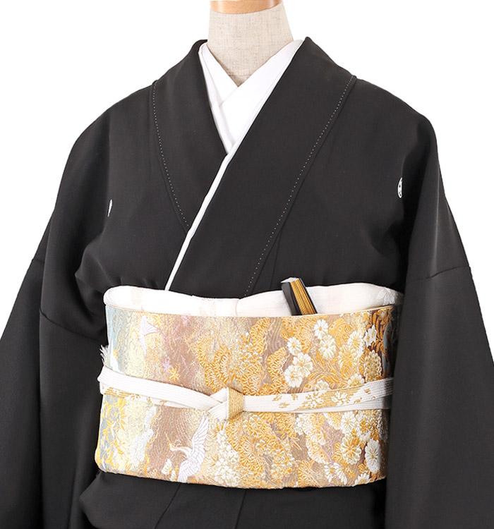 大きいサイズ 黒留袖 No.CA-0211-MOサイズ_01