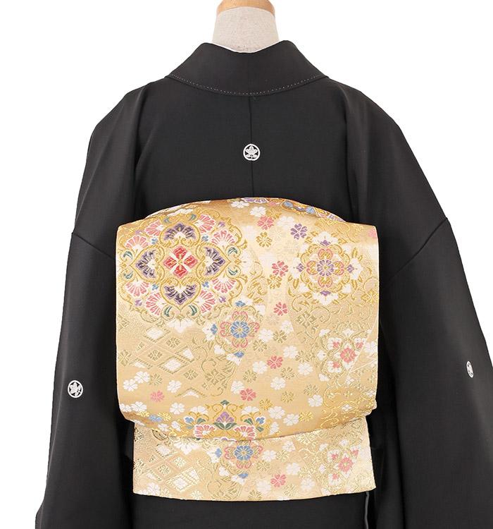 関芳 大きいサイズ 黒留袖 No.CA-0213-LOサイズ_02