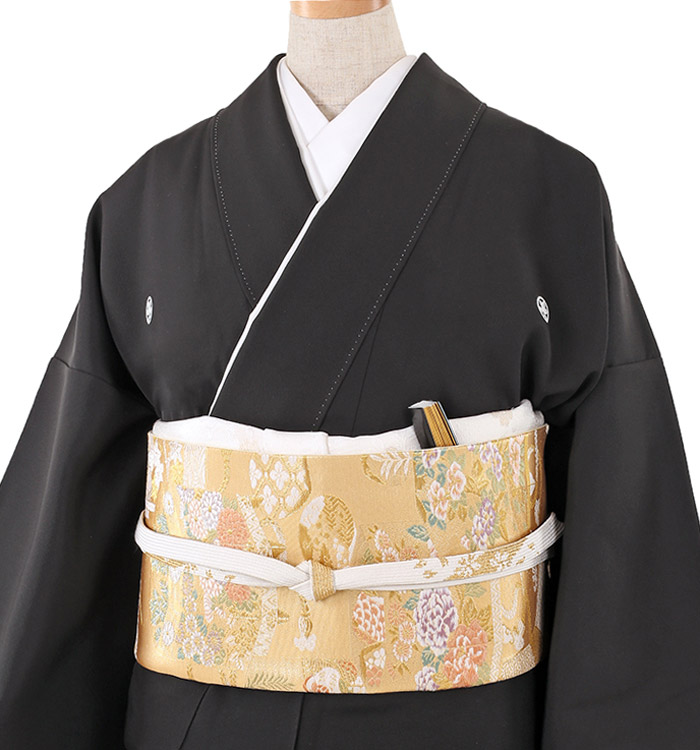 大きいサイズ 黒留袖 No.CA-0214-MOサイズ_01